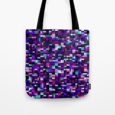Noise pattern - blue/purple Tote Bag