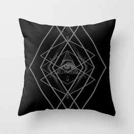 Diamond Eye Throw Pillow