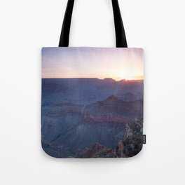 Beautiful Sunrise in the Grand Canyon Tote Bag