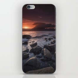 Elgol Beach V iPhone Skin