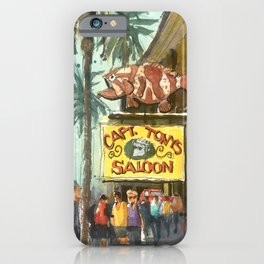 Captain Tony's, Key West iPhone Case