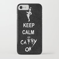 my chemical romance iPhone & iPod Cases featuring Keep Calm and Carry On: My Chemical Romance by alainaci