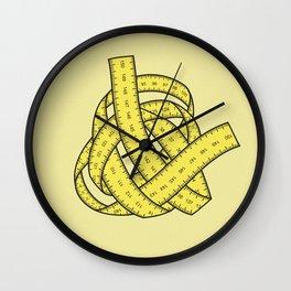 Yarn of measurements Wall Clock