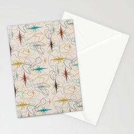 Retro Golden Stationery Cards