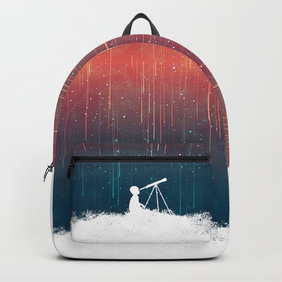 Meteor Rain (light version) Backpack