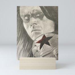 Bucky Barnes the Winter Soldier Mini Art Print