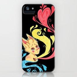 Heavy Hearts iPhone Case
