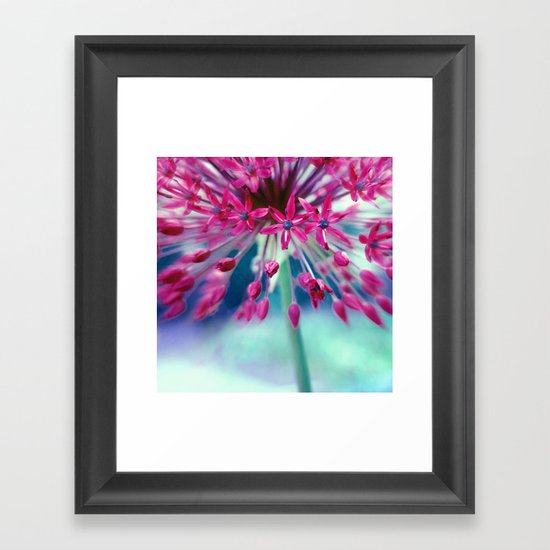 give power Framed Art Print
