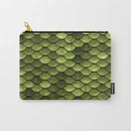 Mermaid Scales | Green with Envy Carry-All Pouch