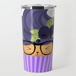 Blueberry Cuppycat Travel Mug