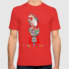 Unicorn Gumball Poop T-shirt