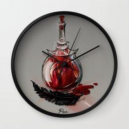 Poe - Grandfathers of horror Wall Clock