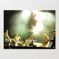 u2 Canvas Prints featuring Four U2 by Samiah Al-Huthaili