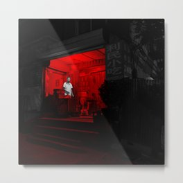beijing red 5 Metal Print
