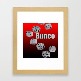 Bunco Framed Art Print