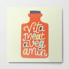 Vitameatavegamin Metal Print