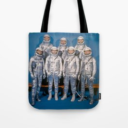 The First Astronauts Tote Bag