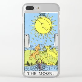 18 - The Moon Clear iPhone Case