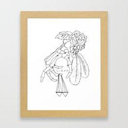 // Libra // Framed Art Print