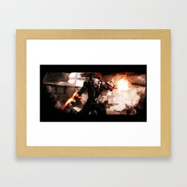 Taking Earth Back Framed Art Print