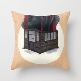 Sheds & Shacks | No:1 Throw Pillow