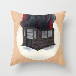 Sheds & Shacks   No:1 Throw Pillow