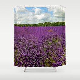 Lavender Landscape (Version 1)  Shower Curtain