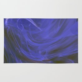 Blue tempest Rug