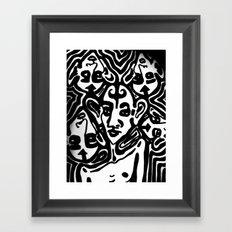 The Gossips Framed Art Print