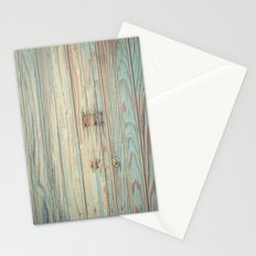 Vintage Bead Board Panels with Chippy Paint Stationery Cards