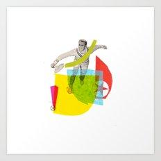 Tenista Art Print
