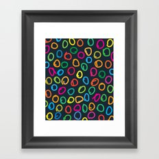 Lovely Pattern V Framed Art Print