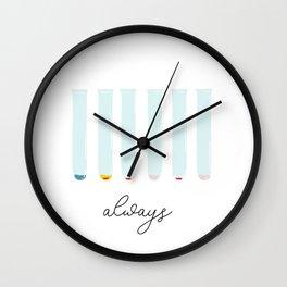 B Positive Always Wall Clock