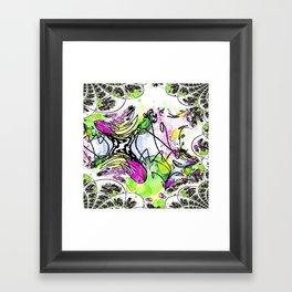 Chaotic Nonsense-Abstract Framed Art Print