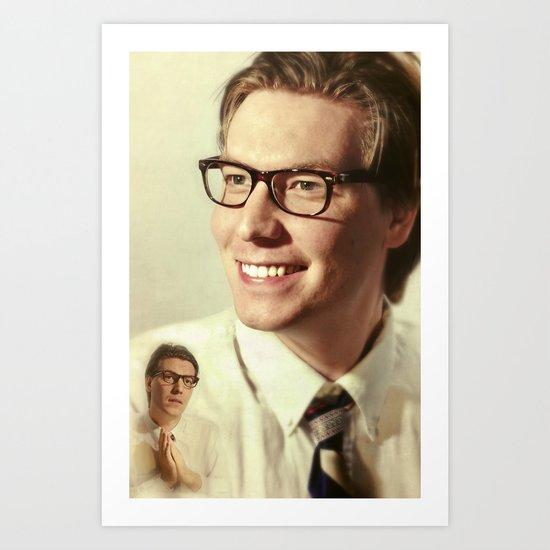 i.am.nerd. :: matt rk, prayer Art Print