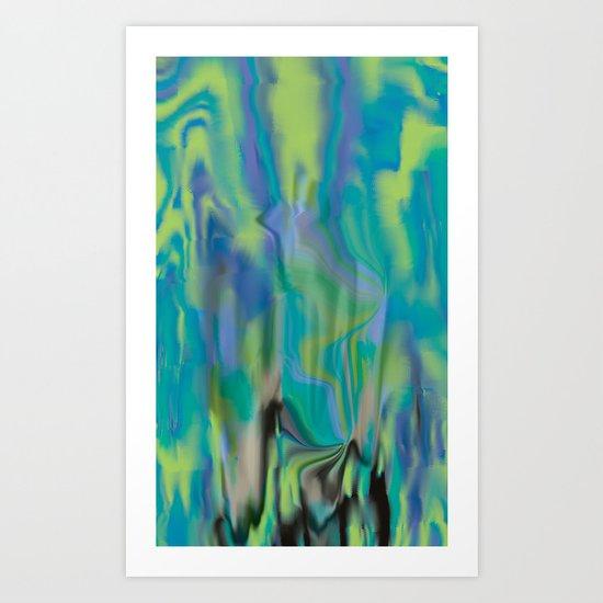 Waterfalling Art Print