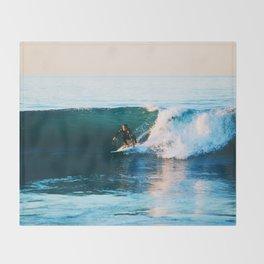 Warm Surf Throw Blanket