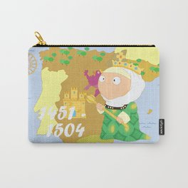 Isabella I of Castile Carry-All Pouch