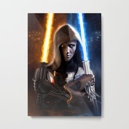 Starwars: Sith or Jedi? Metal Print