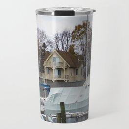 Kennebunkport Habor  Travel Mug