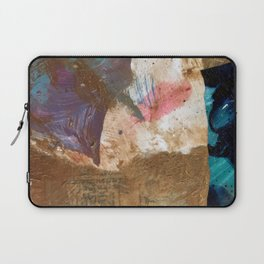 Colours of the wind, and gold. Laptop Sleeve