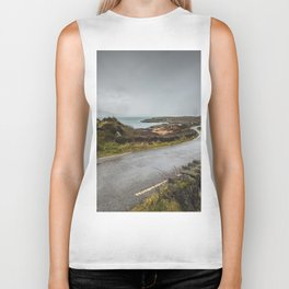 wild atlantic way Biker Tank