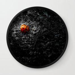 Lovely Ladybug Wall Clock