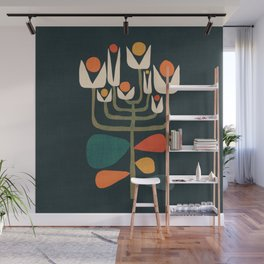 Retro botany Wall Mural