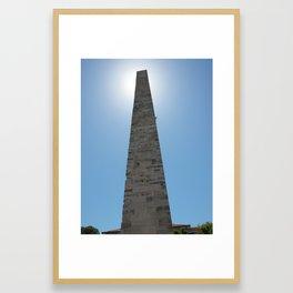 The Walled Obelisk in Istanbul, Turkey Framed Art Print