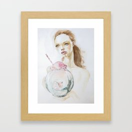 The Trap of success Framed Art Print
