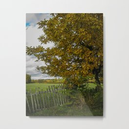 French Countryside Metal Print