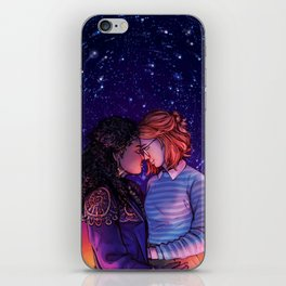 Kelly and Yorkie iPhone Skin