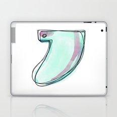 Green Surf Tail Laptop & iPad Skin
