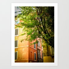 off the streets of Italy Art Print